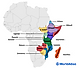 The 18 countries of East Africa