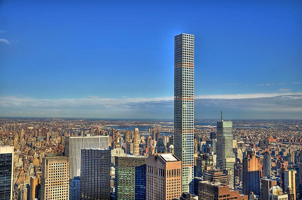 List Of Tallest Residential Buildings In New York