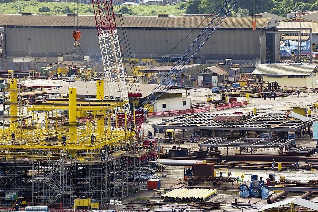 The Biggest Industries In Brunei Worldatlas Com