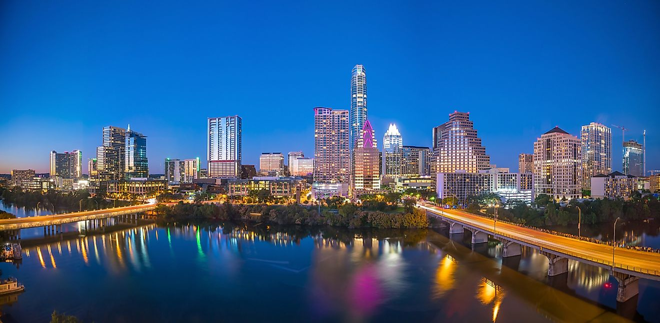 What Is the Capital of Texas WorldAtlascom