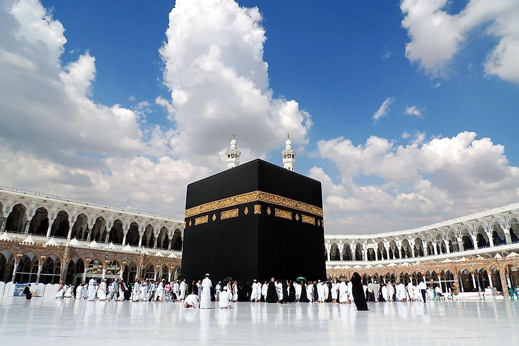 Umrah Banner: Religion In Saudi Arabia