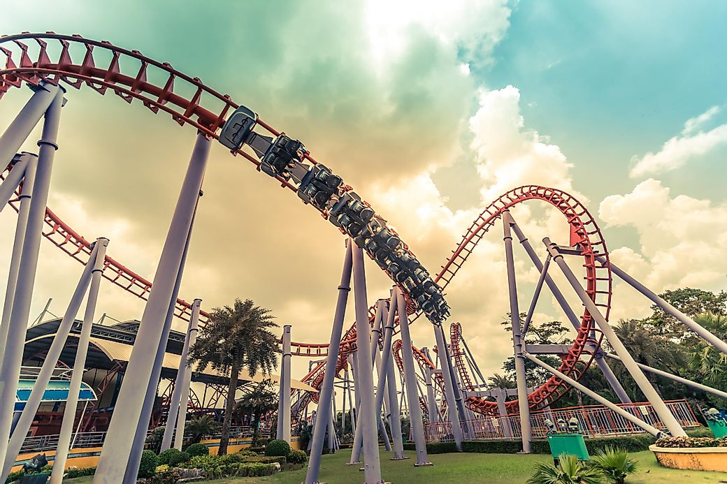 Most Popular Theme Parks By Attendance WorldAtlascom - Map of all us theme parks