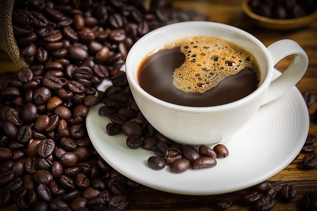 Top 10 Coffee Consuming Nations - WorldAtlas.com