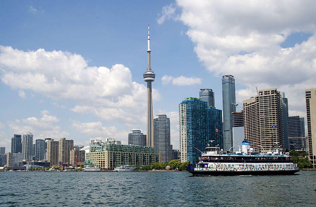 Biggest Cities In Canada - WorldAtlas.com