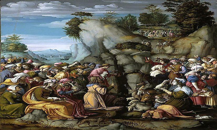 The Twelve Tribes Of Israel Worldatlas Com