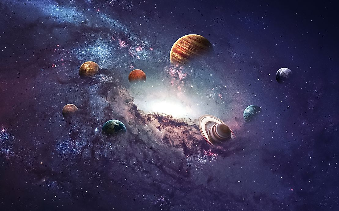 How many planets are there - Galaxy and planets ...