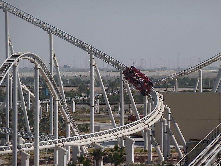 Fastest Roller Coasters In The World Worldatlas Com
