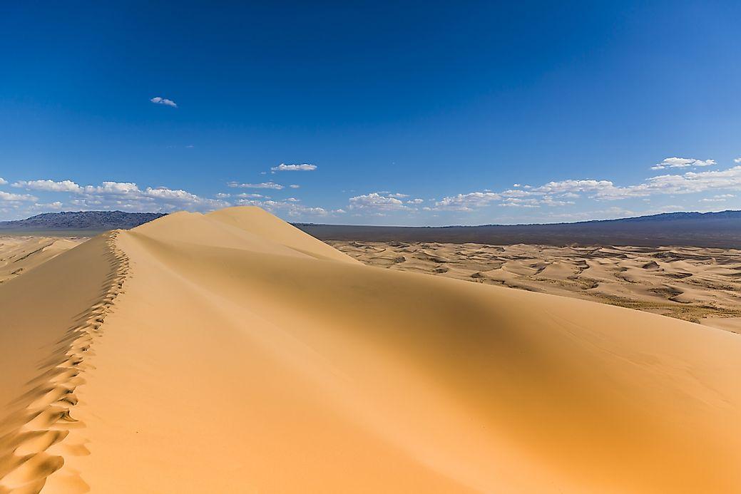 Where is the Gobi Desert? - WorldAtlas.com
