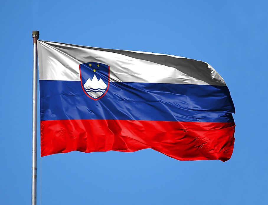what do the colors and symbols of the flag of slovenia