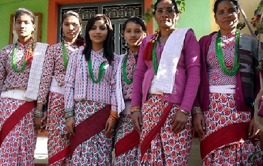 Largest Ethnic Groups In Nepal - WorldAtlas.com