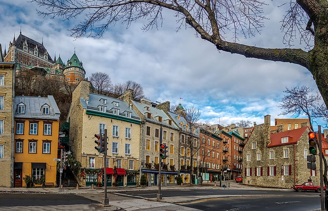 What Is The Capital Of Quebec Worldatlas Com