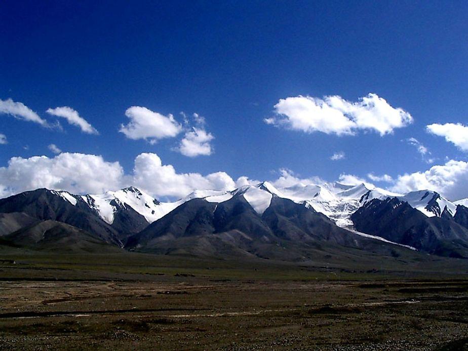 Kunlun Mountain Range China WorldAtlascom