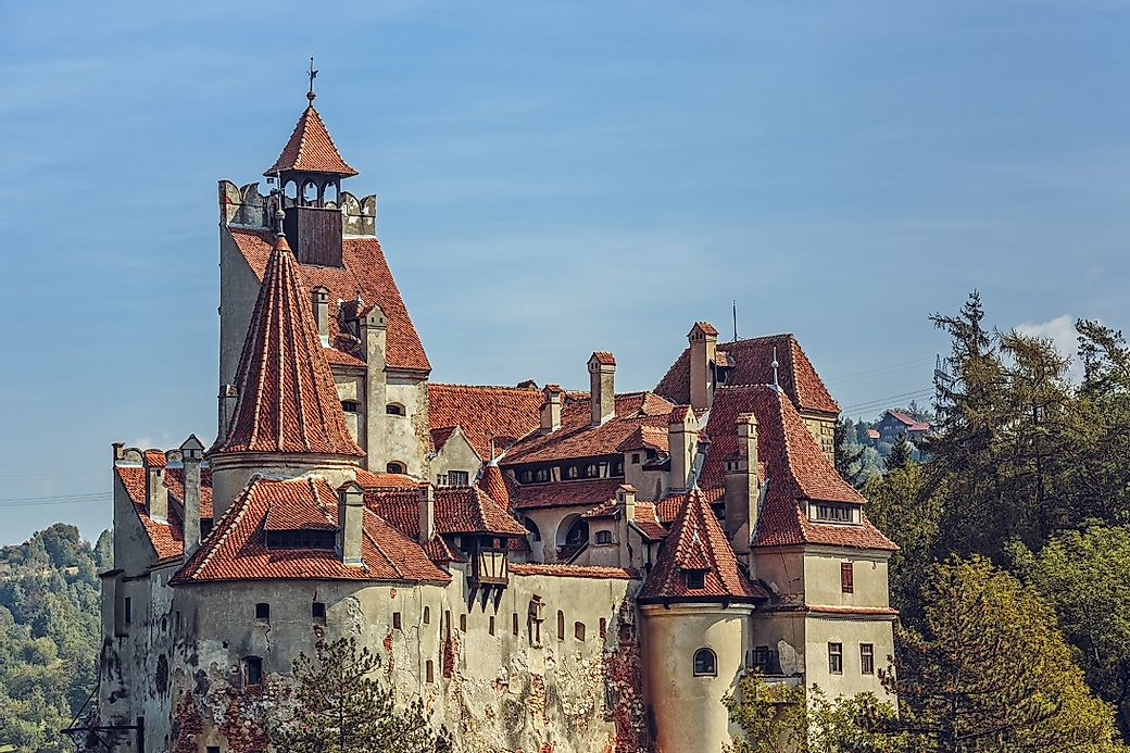 bran castle romania unique places around the world