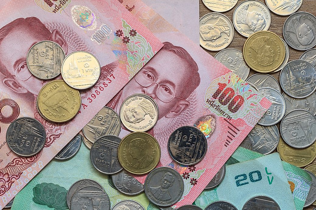 What Is The Currency Of Thailand Worldatlas Com