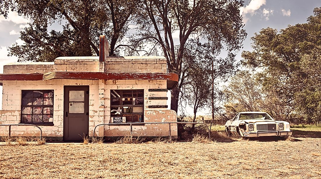 Ghost Towns Of America Glenrio New Mexico And Texas