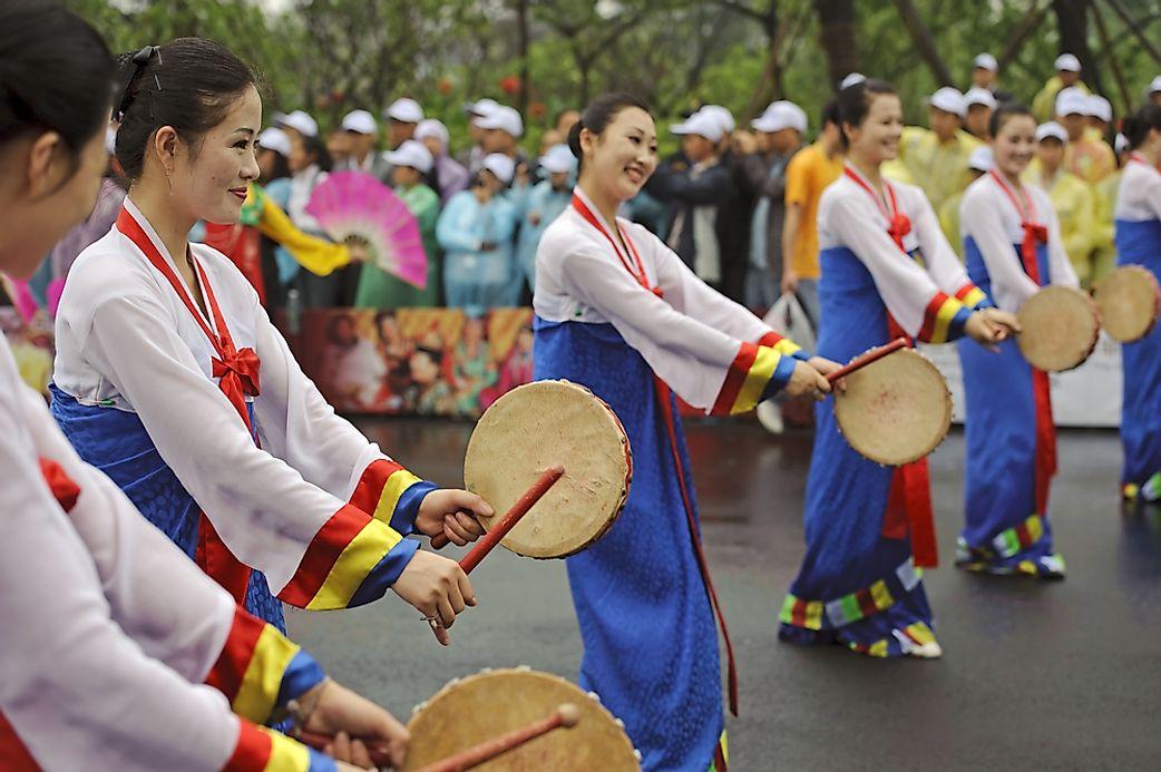 ethnic groups of north korea