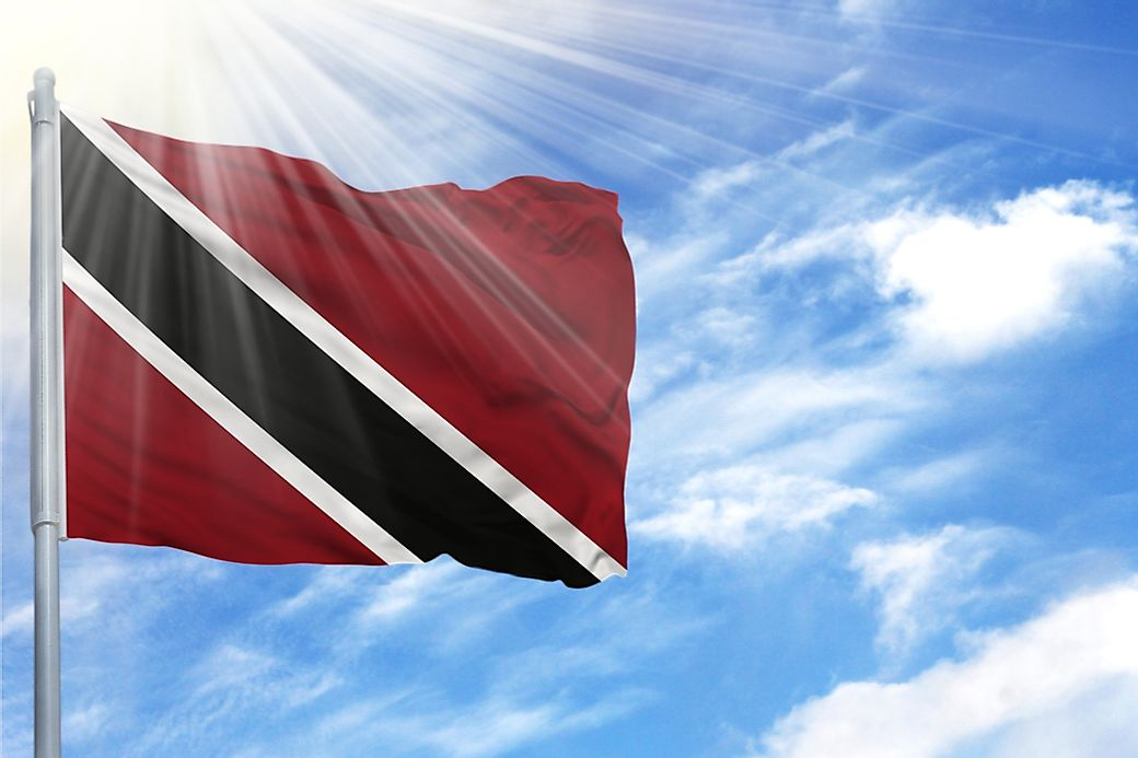 what do the colors and symbols of the flag of trinidad and