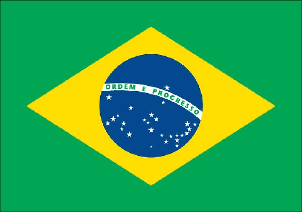 Brazil Flag Yellow Meaning