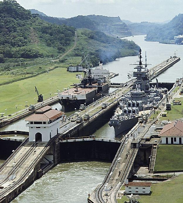 Waterway Locks And Their Role In Shipping Worldatlas Com