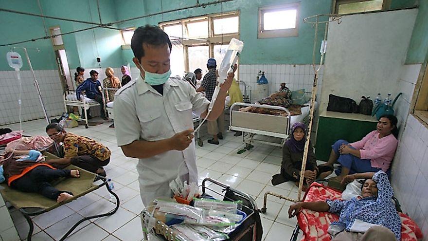 Leading Causes Of Death In Indonesia - WorldAtlas.com