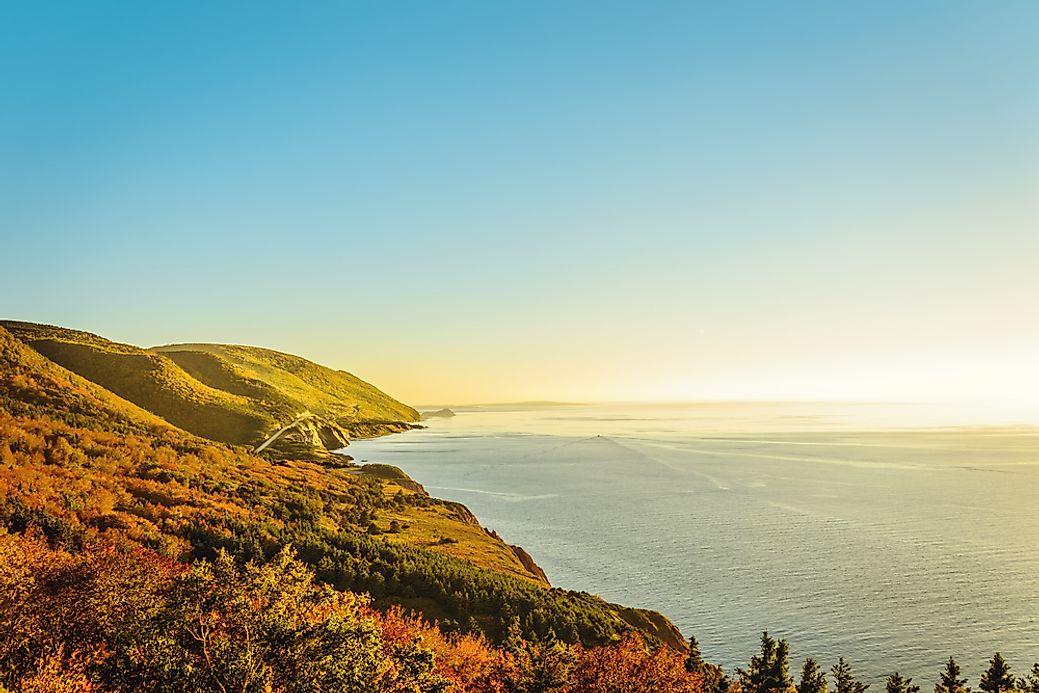 The Longest Coastlines in North America - WorldAtlas.com