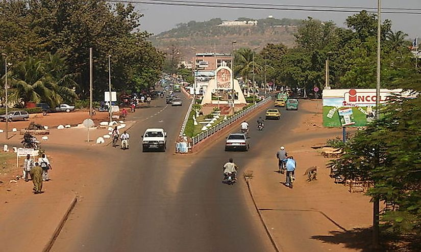 Galerry The Republic of Mali is a landlocked country in the center of West