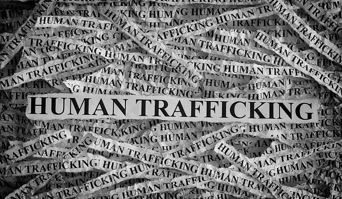 Worst Countries For Human Trafficking Today - WorldAtlas com