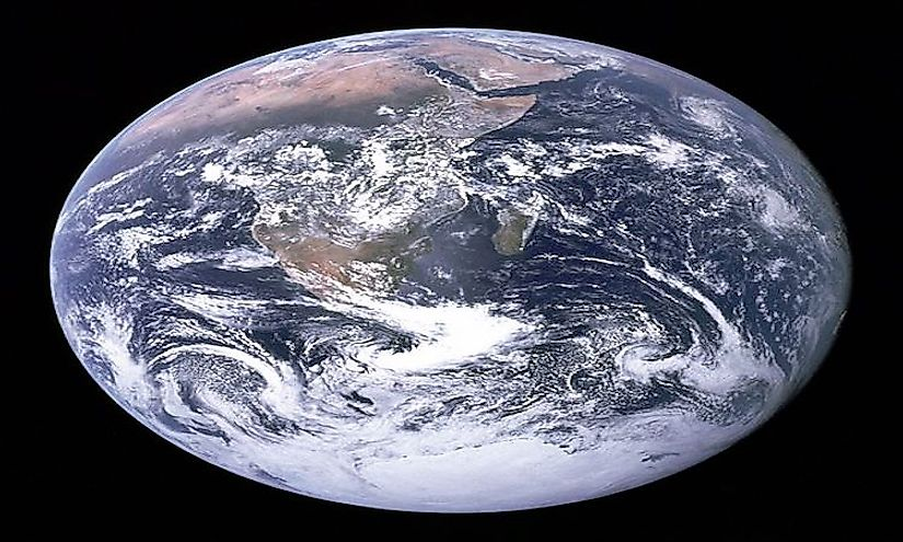 the blue marble  the  u0026quot out of the world u0026quot  image of the earth