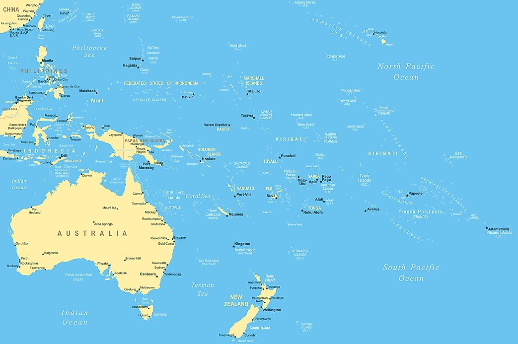 What Is Micronesia Worldatlas Com