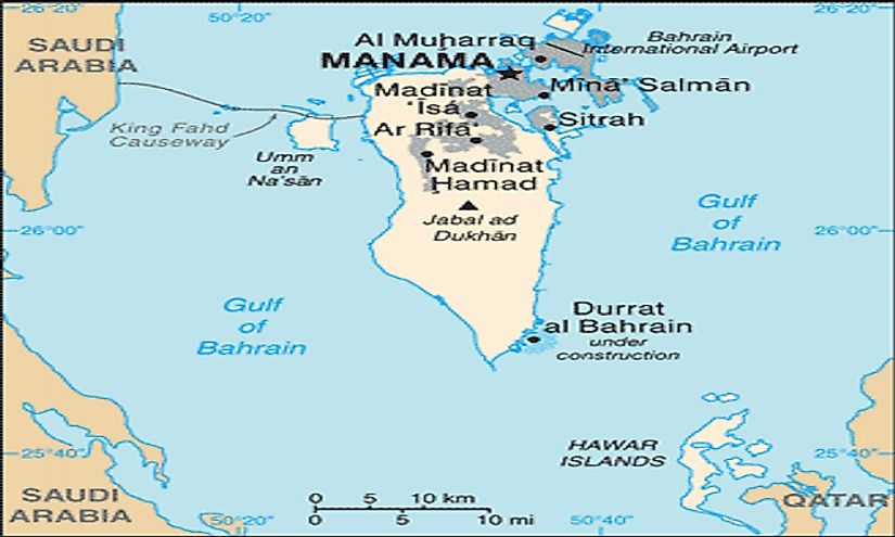 Islands of the kingdom of bahrain worldatlas gumiabroncs Images