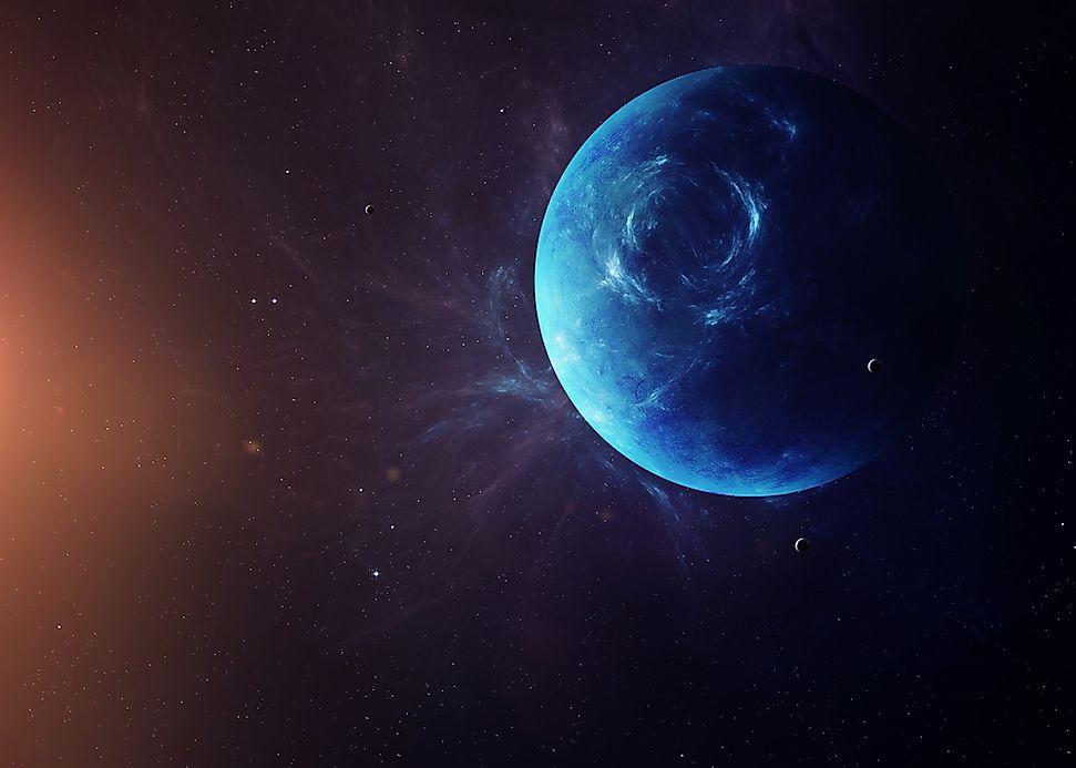 neptune the blue planet worldatlascom