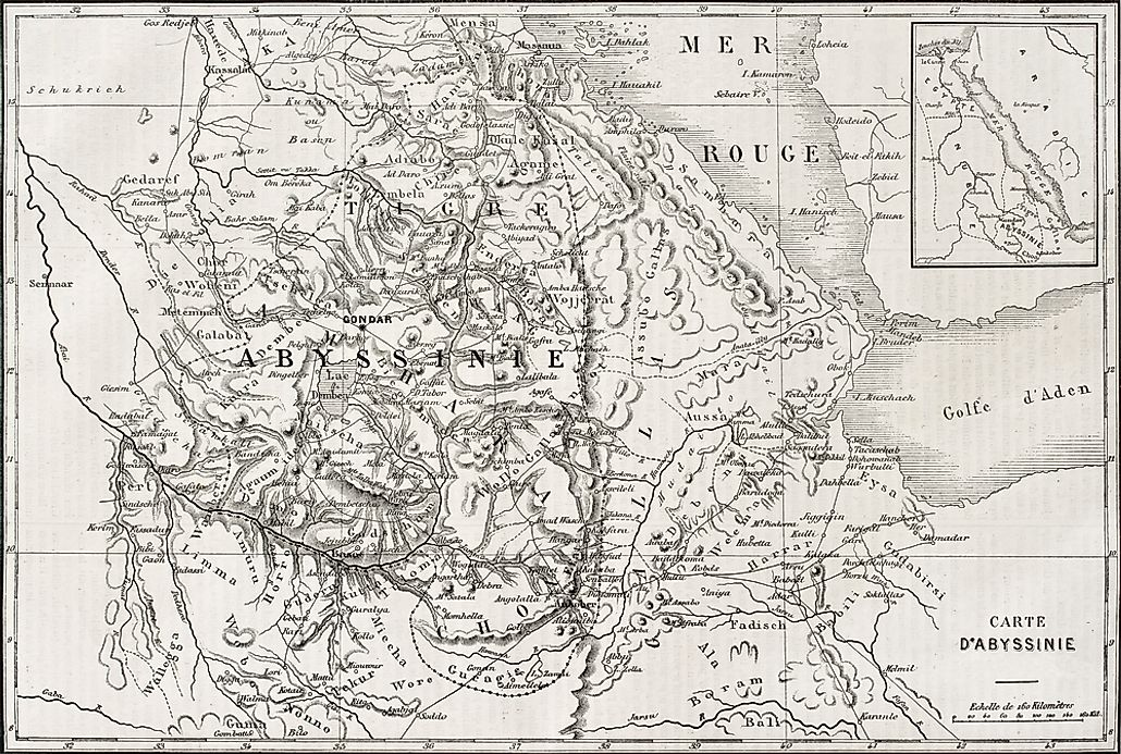 What Happened During The Migration to Abyssinia Or The ... Hegira Map
