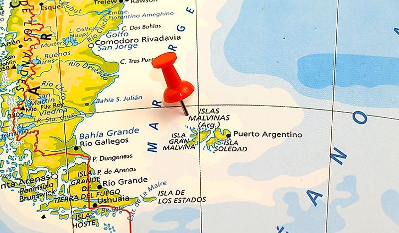 Black Gold Old Rivalry Argentina Britain The Falkland Islands - Argentina map natural resources