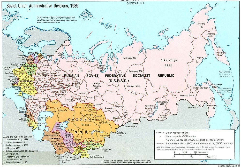 Present Day Countries That Once Prised The Soviet Union Ussr: Map Of Old And New Ussr At Usa Maps