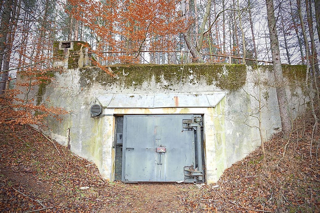 What Is A Bunker And What Role Does It Play Worldatlas Com