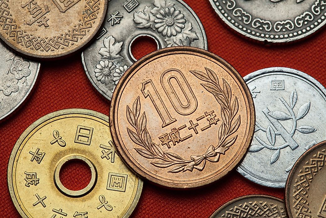 What Is The Currency Of Japan Worldatlas Com