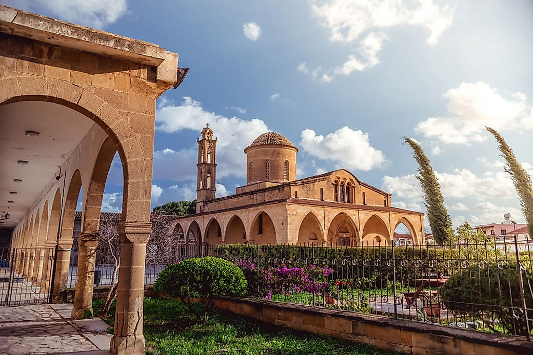 what is the capital of cyprus worldatlascom