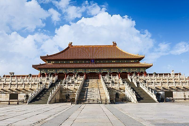 the forbidden city of china worldatlas com