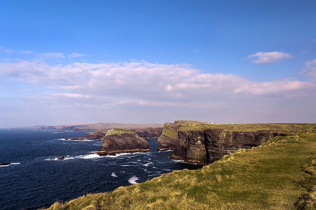 Where Is The Celtic Sea Worldatlas Com