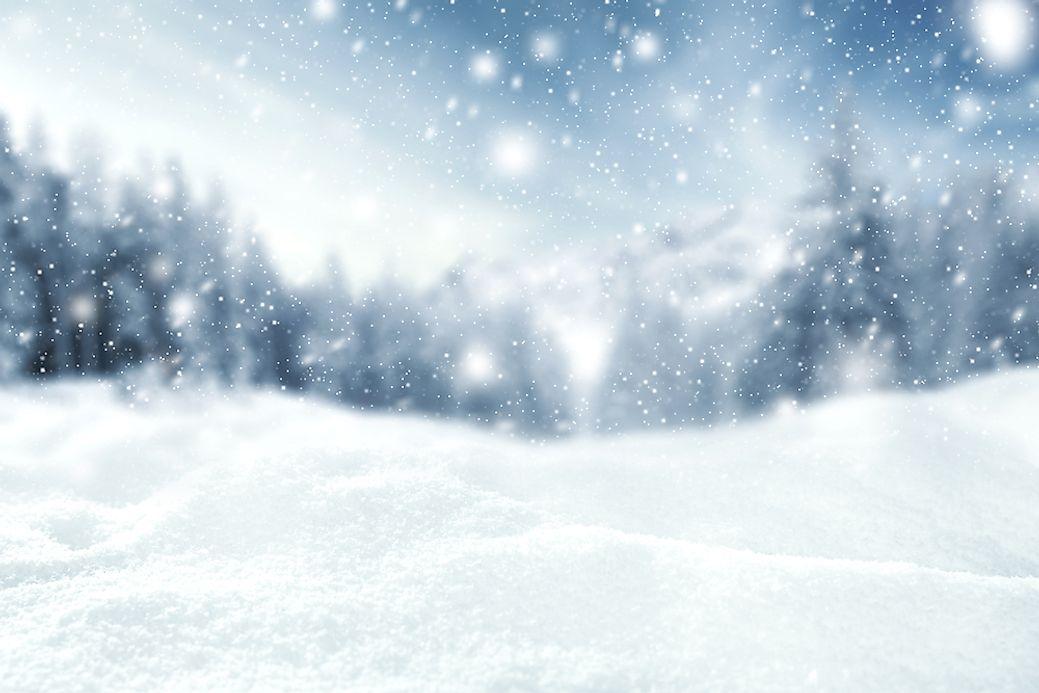 How is snow formed worldatlas