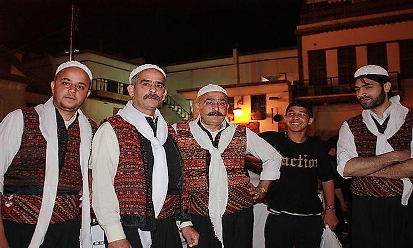 Largest Ethnic Groups In Syria - WorldAtlas.com