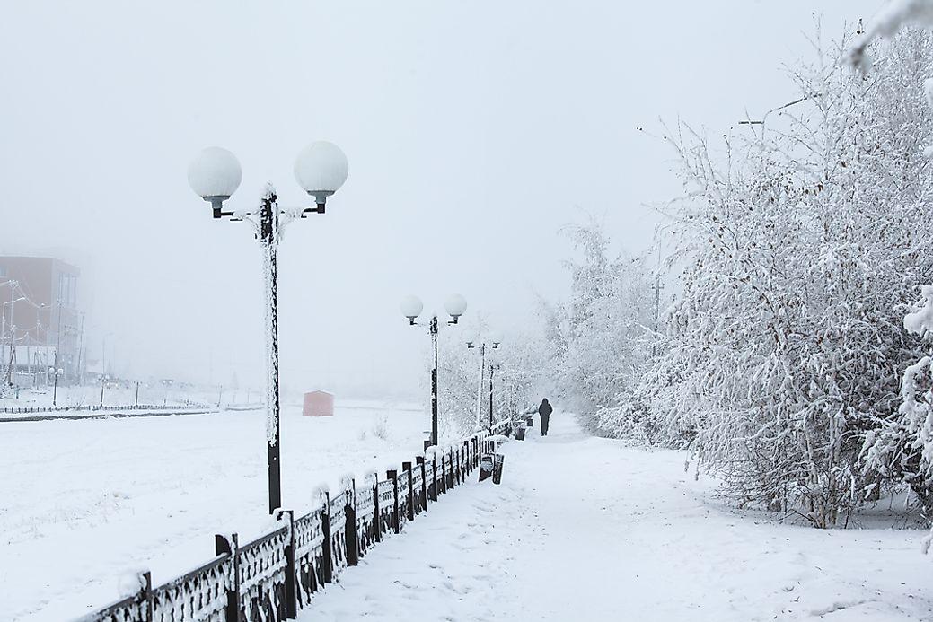 yakutsk russia the world s coldest city. Black Bedroom Furniture Sets. Home Design Ideas