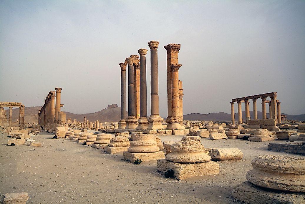The Six Unesco World Heritage Sites In Syria Worldatlas Com