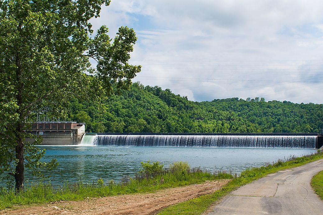 Lake Ozark Missouri >> The Largest Reservoirs in the United States - WorldAtlas.com