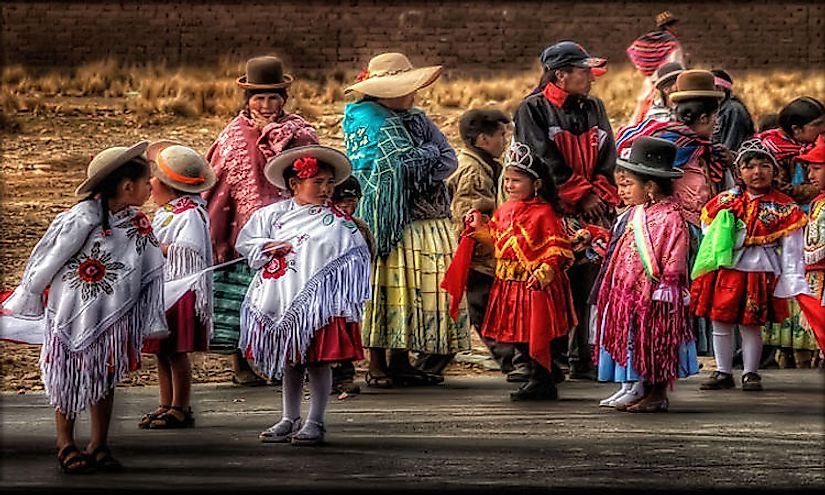 Ethnic Groups Of Bolivia Worldatlas Com