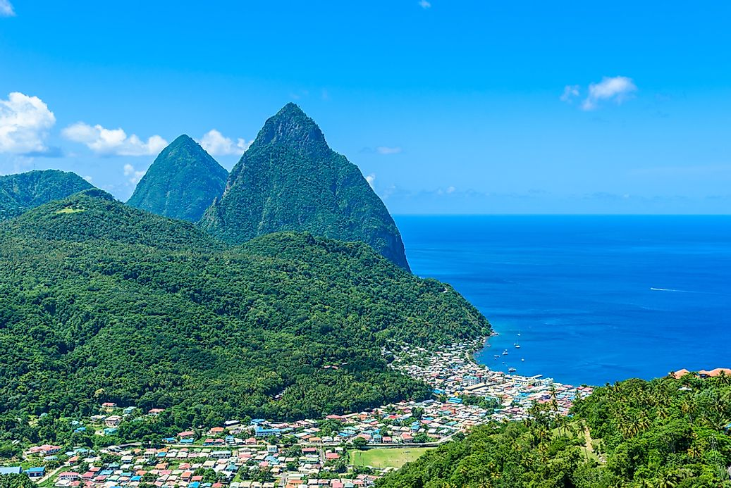 The wonders of the pitons a unesco world heritage site in for World heritage site list