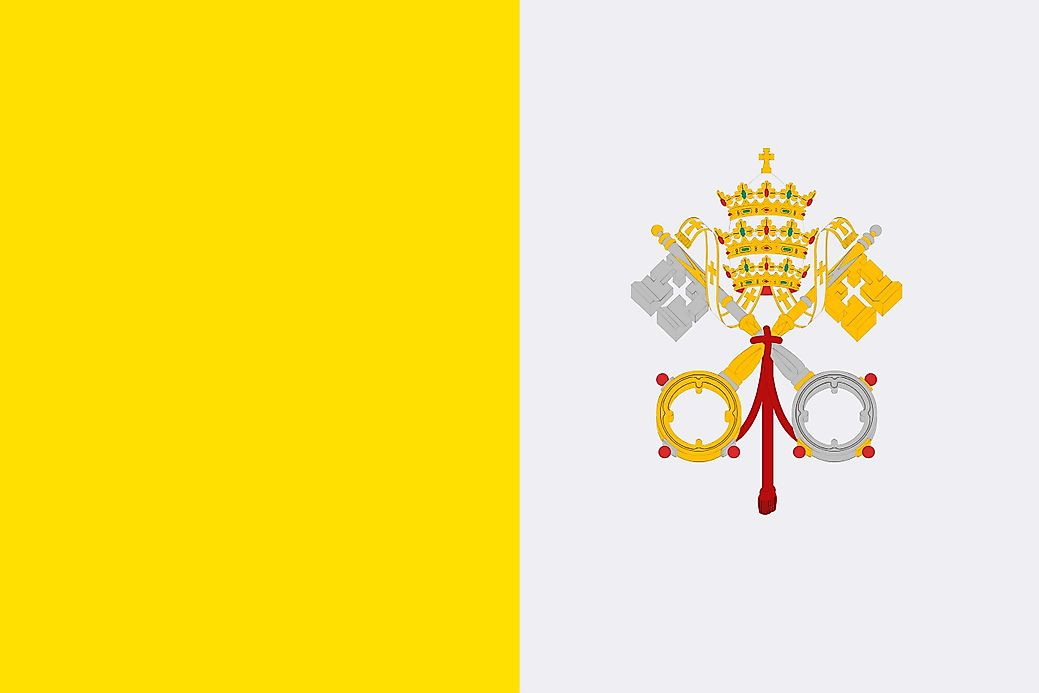 What Do The Colors And Symbols Of The Flag Of Vatican City