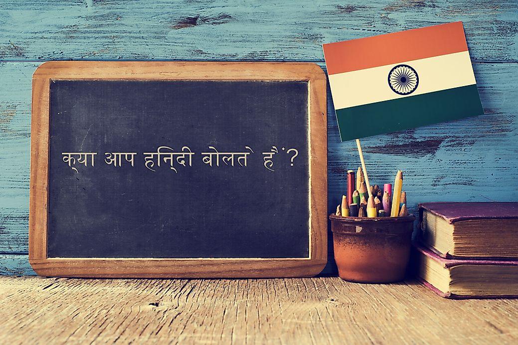 What Language Is Spoken in India? - WorldAtlas com