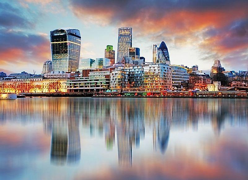 The Biggest Cities In The United Kingdom - WorldAtlas com