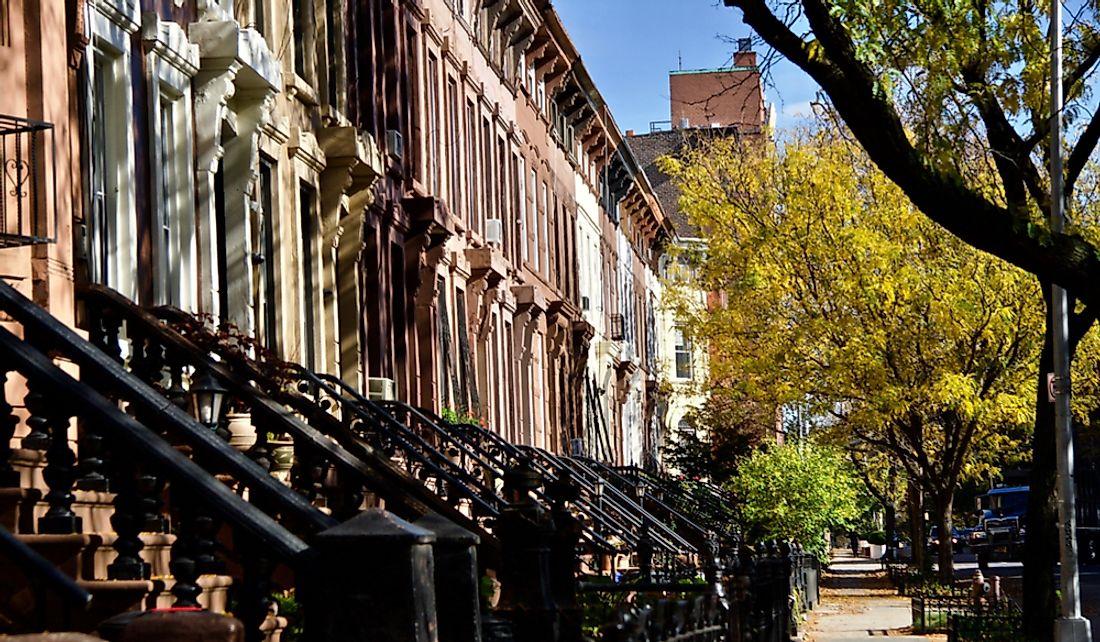 Brooklyn Neighborhoods By Population Worldatlas Com